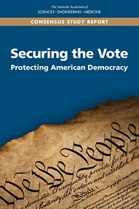 "Cover of the Report, ""Securing the Vote"""