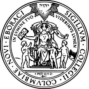 Image of the seal of the Trustees of Columbia University.