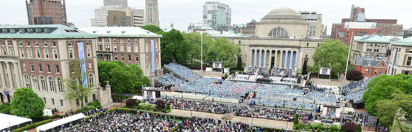 Photo of College Walk on Commencement