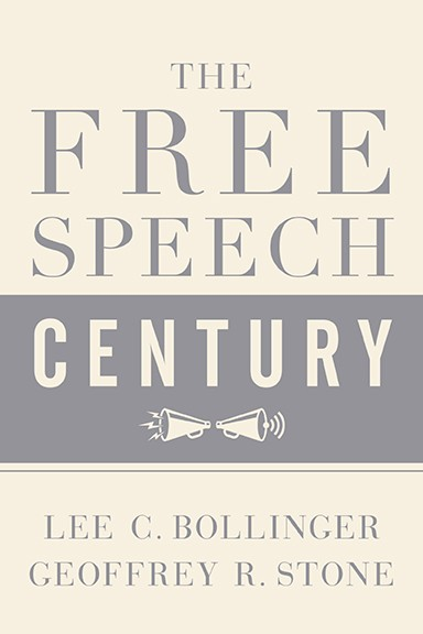 The Free Speech Century book cover.